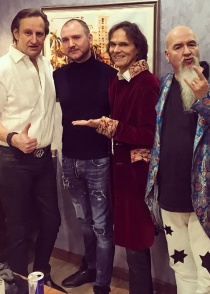 Joy has performed in Nur-Sultan