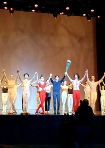 Bejart Ballet has performed in Moscow