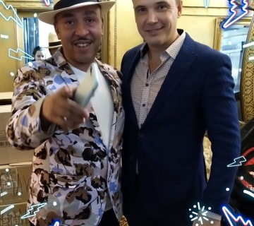 Lou Bega has performed in Moscow