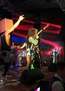 Redfoo from LMFAO has performed in Almaty